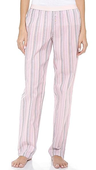 Calvin Klein Underwear Woven Roll Up PJ Pants