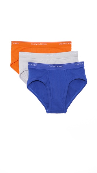 Calvin Klein Underwear 3 Pack Low Rise Briefs