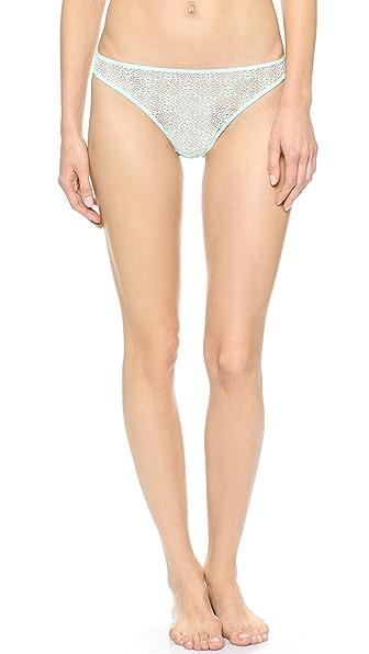 Calvin Klein Underwear Crochet Lace Thong