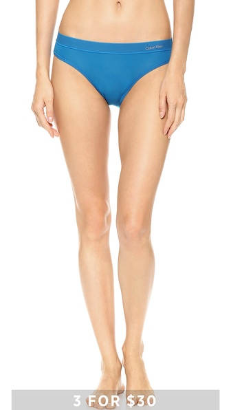 Calvin Klein Underwear Second Skin Bikini Briefs