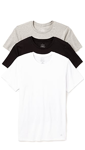 Calvin Klein Underwear 3 Pack Crew Neck T-Shirts