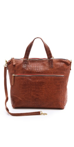 CLARE VIVIER Besace Embossed Bag