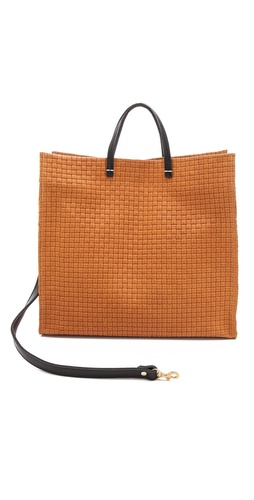 CLARE VIVIER Simple Woven Tote