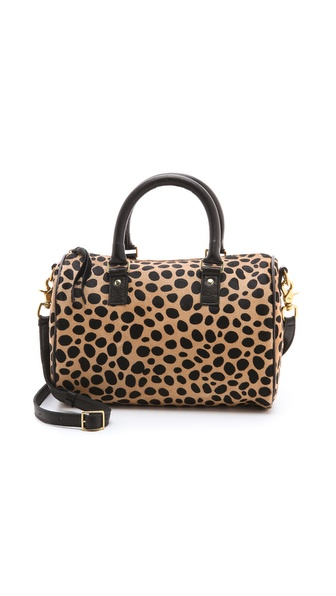 CLARE VIVIER Haircalf Escale Duffel Bag