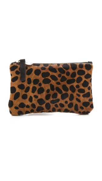 CLARE VIVIER Haircalf Wallet Clutch