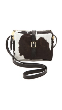 CLARE VIVIER Mini Haircalf Bag