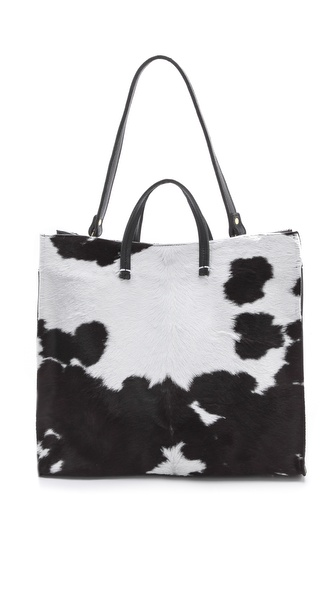 CLARE VIVIER Simple Haircalf Tote