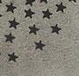 Grey Star Print
