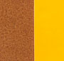 Caramel/Neon Orange