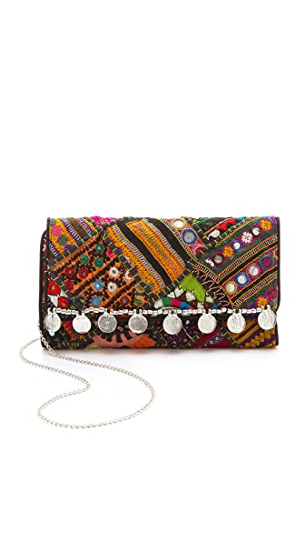 Cleobella Gaia Embroidered Clutch