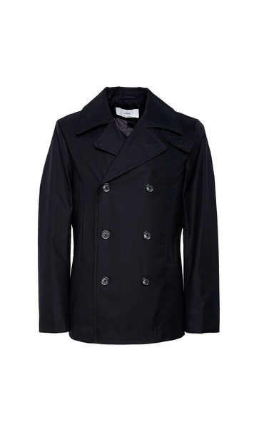 Closed Franklin Pea Coat