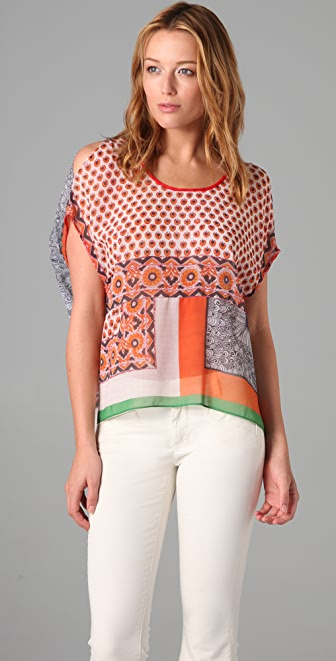 Clover Canyon Multi Print Top