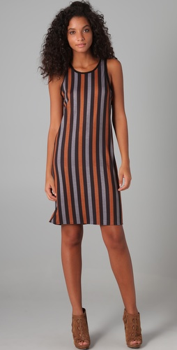 Clover Canyon Striped Tank Dress