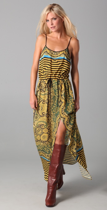 Clover Canyon Thailand Print Tank Dress