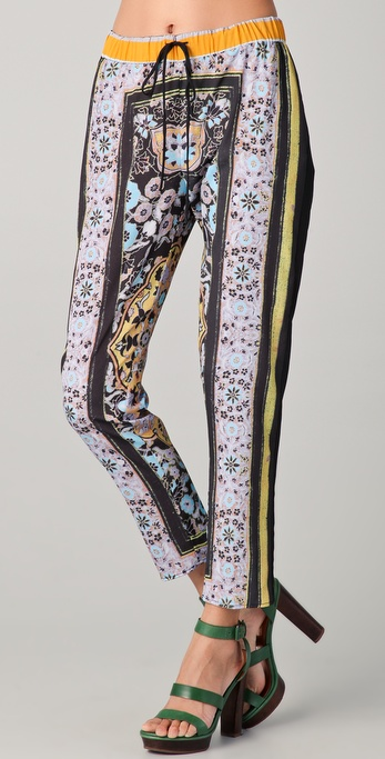 Clover Canyon Folk Print Pants