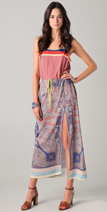 Clover Canyon Paisley Foulard Dress