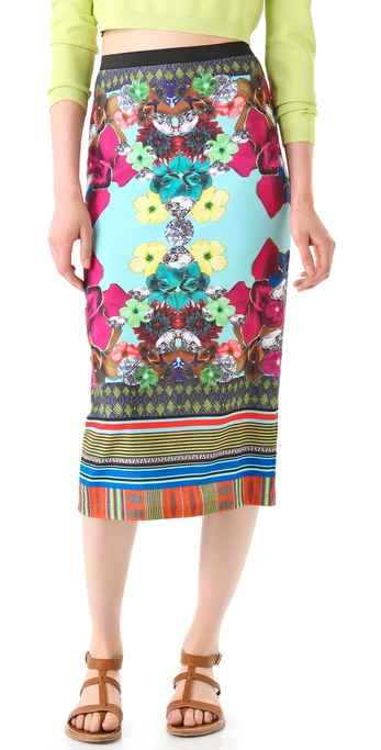 Clover Canyon Tropical Diamond Skirt
