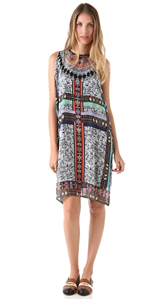 Clover Canyon African Diamond Dress