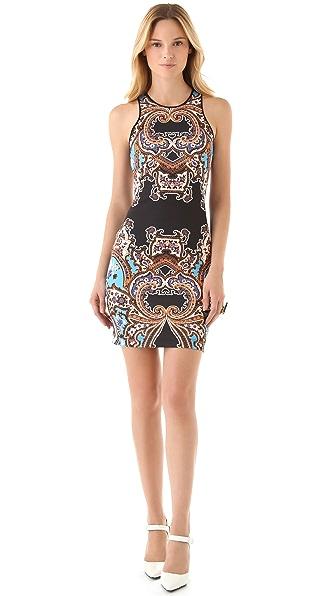Clover Canyon Holiday Neoprene Dress