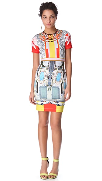 Clover Canyon Miami Streets Mini Dress