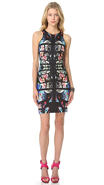 Clover Canyon Aquarium Puzzle Pencil Dress