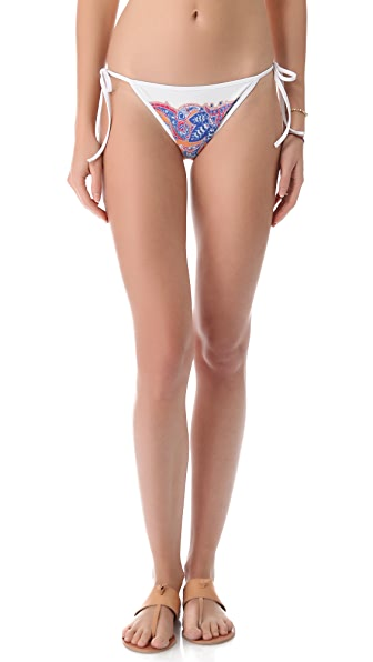Clover Canyon Bordered Paisley Bikini Bottoms
