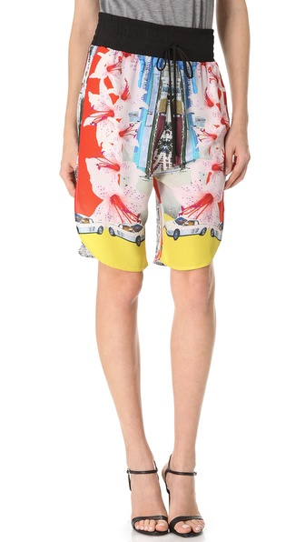 Clover Canyon Miami Streets Shorts
