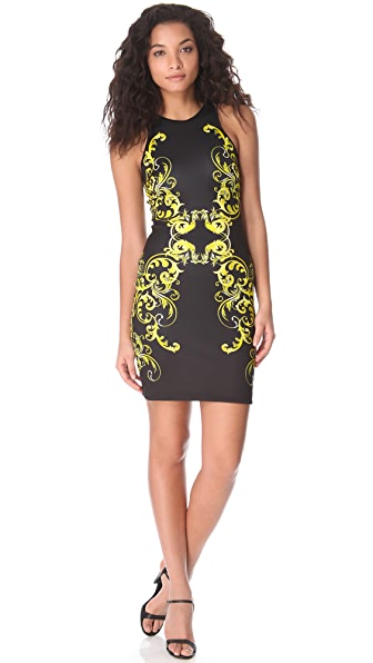Clover Canyon Filigree Neoprene Dress