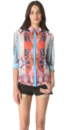 Clover Canyon Wheels Blouse