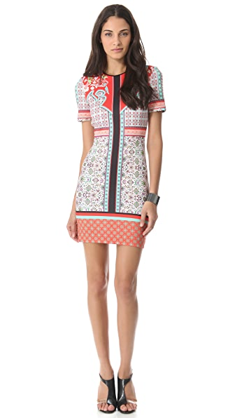 Clover Canyon Old Cow Hand Neoprene Dress