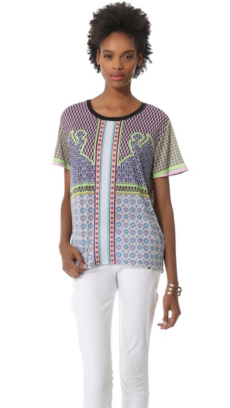 Clover Canyon Neon Cowboy Top