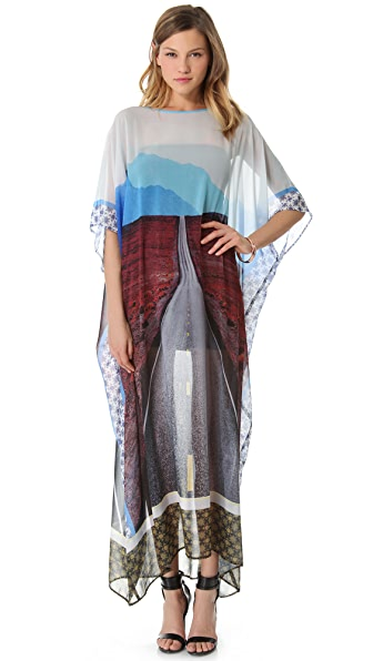 Clover Canyon On The Road Dress with Dolman Sleeves