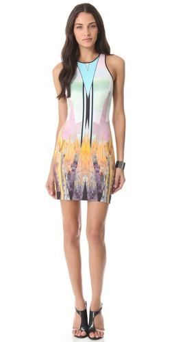 Clover Canyon Prism Desert Neoprene Dress