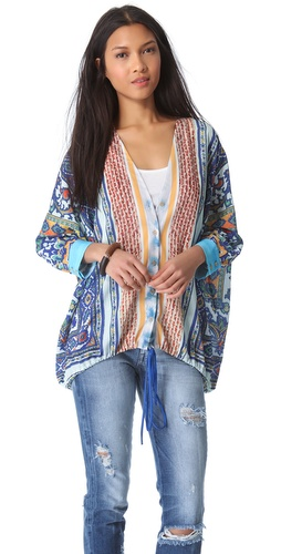 Clover Canyon Surf Tapestry Top