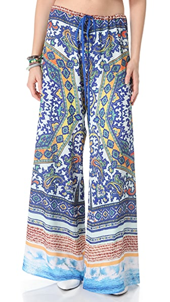 Clover Canyon Surf Wide Leg Pants
