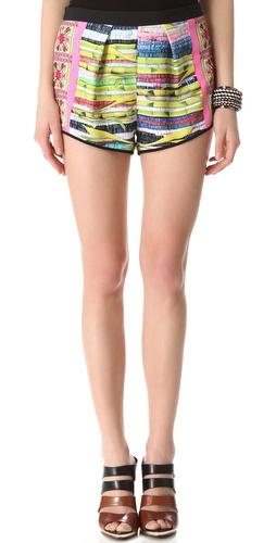 Clover Canyon Surf Shack Mini Shorts