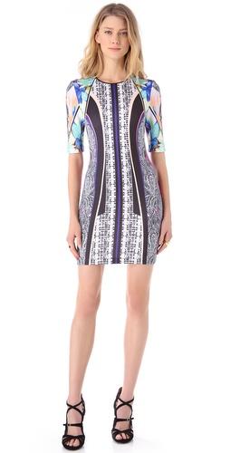 Clover Canyon Jaipur Jungle Neoprene Dress