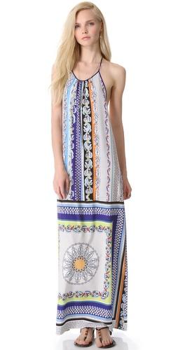 Clover Canyon Gandhi Scarf Halter Dress