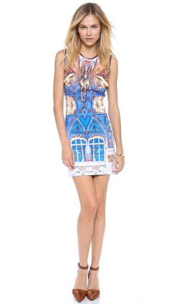 Clover Canyon Pegasus Sleeveless Neoprene Dress