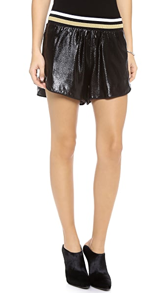 Clover Canyon Metallic Shorts