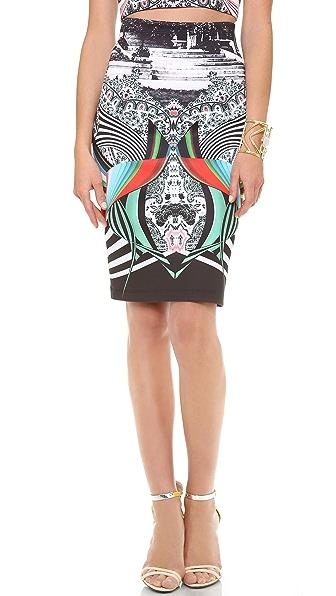 Clover Canyon Swirl Scarf Skirt