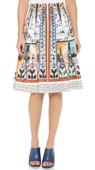 Clover Canyon Havana Circle Full Skirt