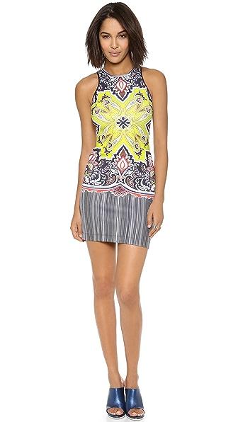 Clover Canyon Havana Paisley Dress