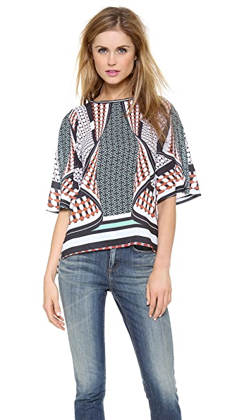 Clover Canyon Twist Scarf Top