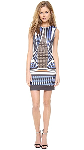 Clover Canyon Twist Scarf Neoprene Dress