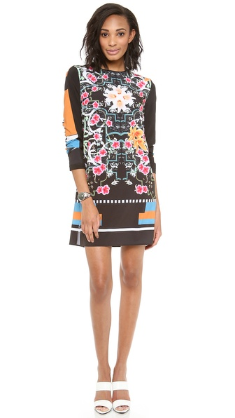 Clover Canyon Cuba Scarf Shift Dress