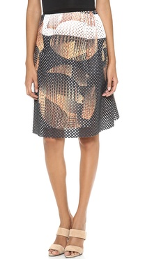 Clover Canyon Metal Orbs Skirt