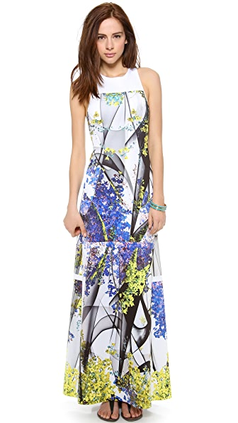 Clover Canyon Space Garden Maxi Dress