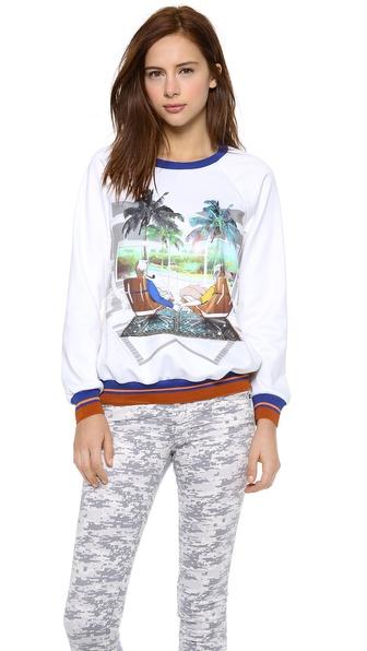 Clover Canyon Eames Couple Sweatshirt