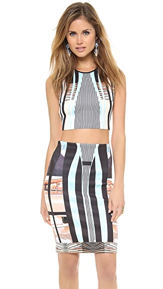 Clover Canyon Desert Home Crop Top